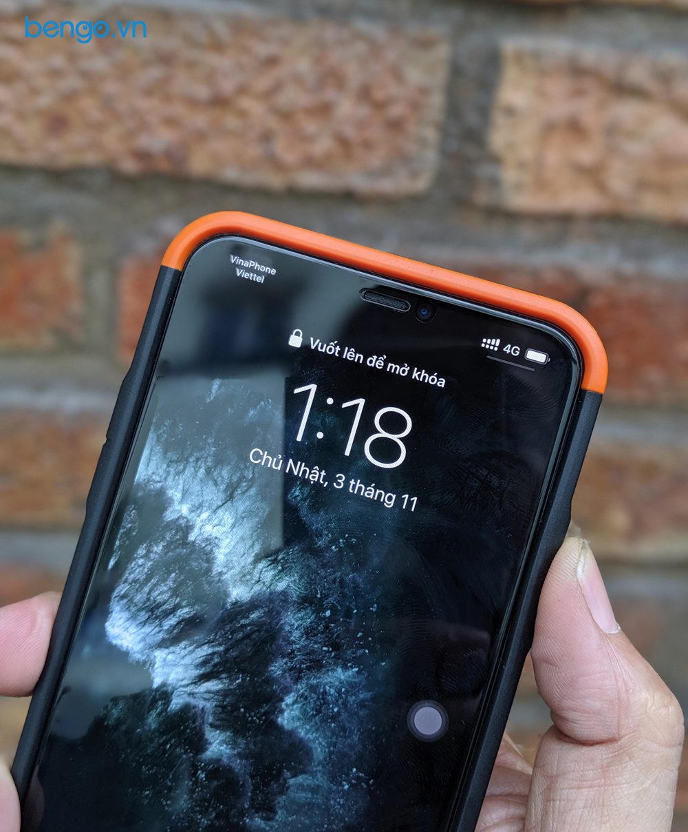 Op lung iPhone 11 Pro Max UAG Civilian Series 3 blog bengovn