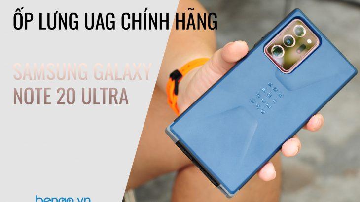 Bengo.vn - Ốp lưng UAG chính hãng Samsung Galaxy Note 20 Ultra