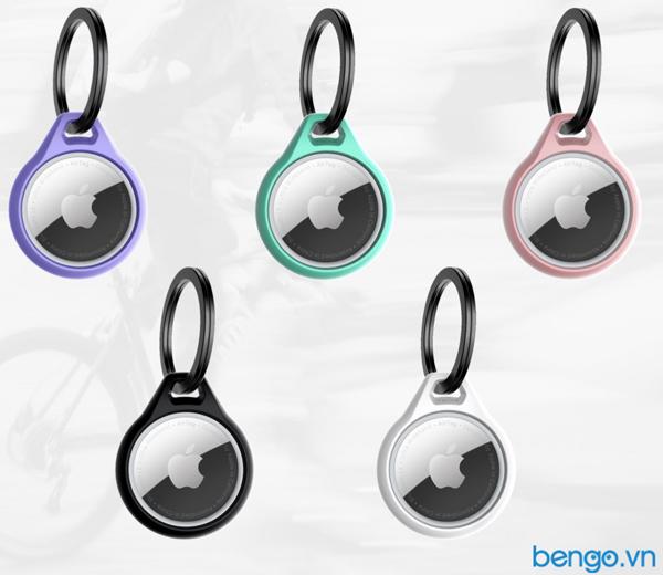 Vỏ bảo vệ Apple Airtag ITSKINS Solid Soft kháng khuẩn