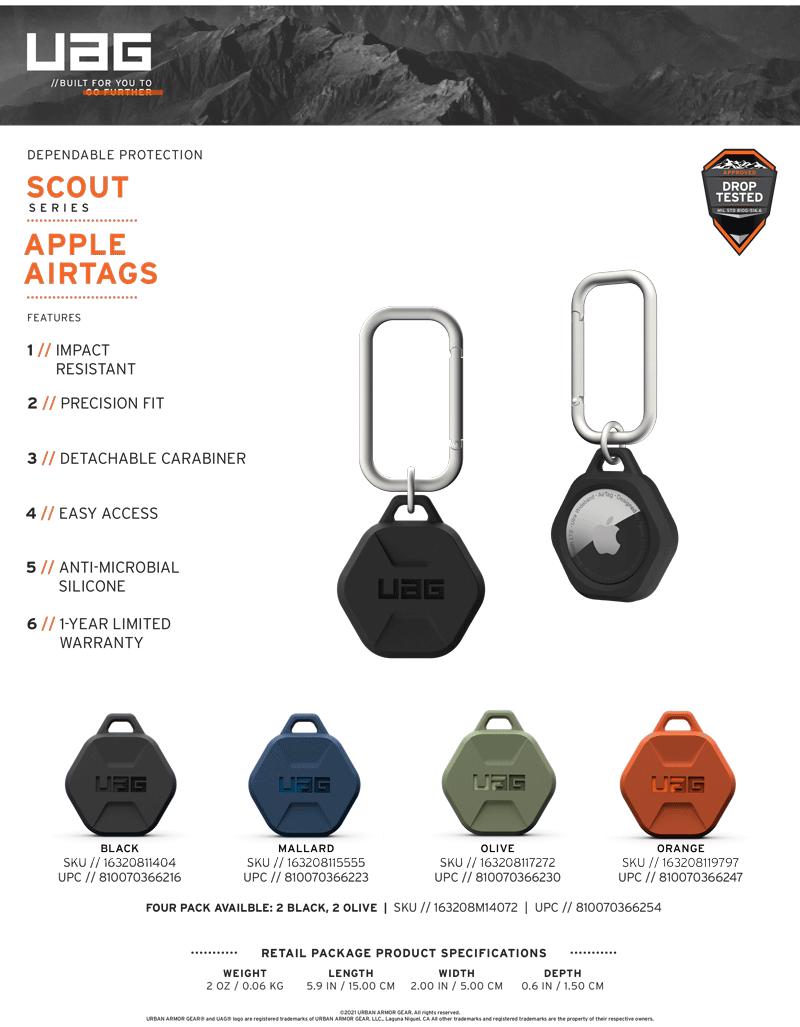 Apple AirTag UAG Scout