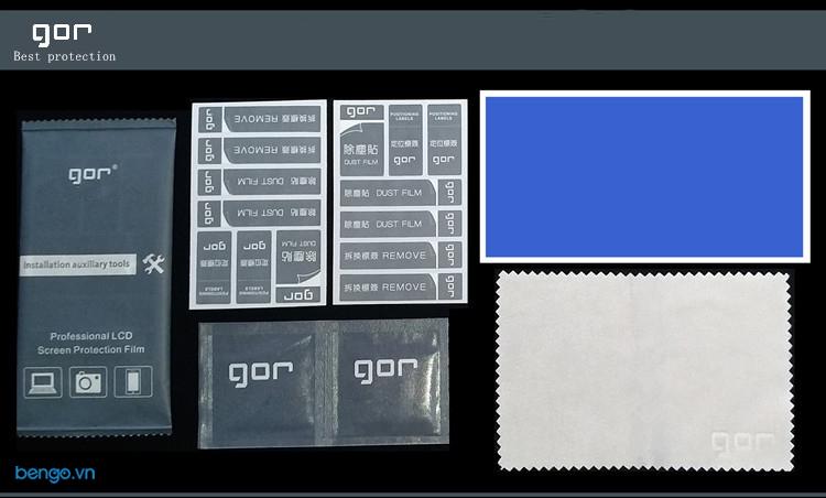 Dán màn hình Apple Watch Series 5/4 44mm GOR 3D full viền đen (Hộp 3 miếng)