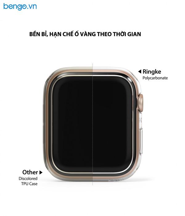 Bộ 2 ốp Apple Watch 6/SE/5/4 44mm RINGKE Slim