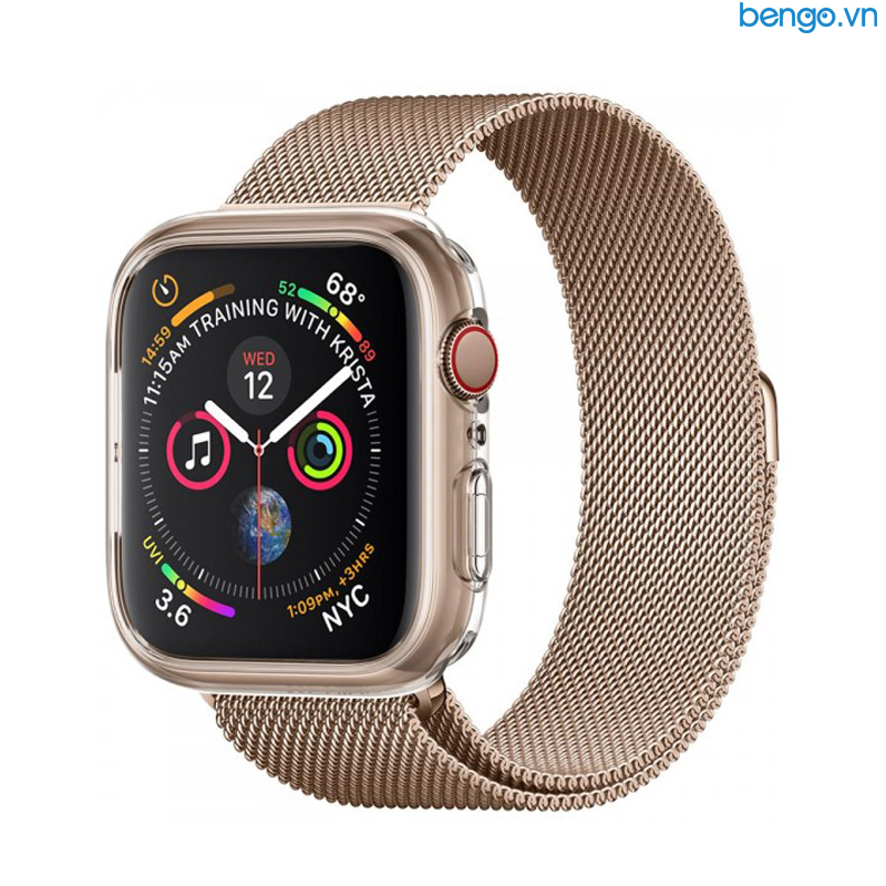 Ốp Apple Watch Series 4 44mm SPIGEN Liquid Crystal