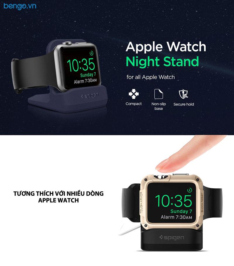 Giá đỡ Apple Watch Night Stand S350