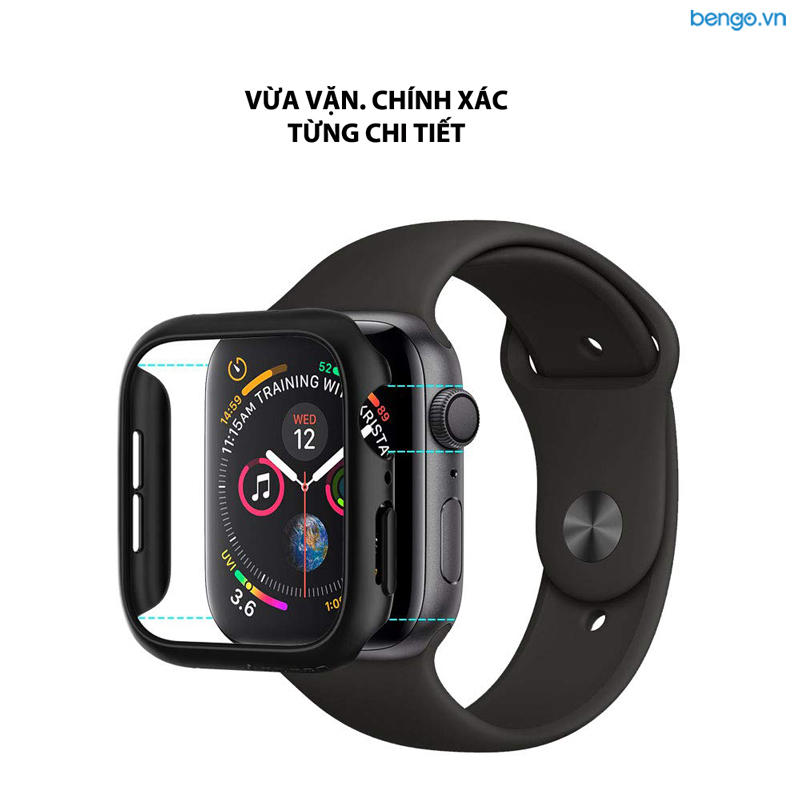 Ốp Apple Watch Series 4 44mm SPIGEN Thin Fit
