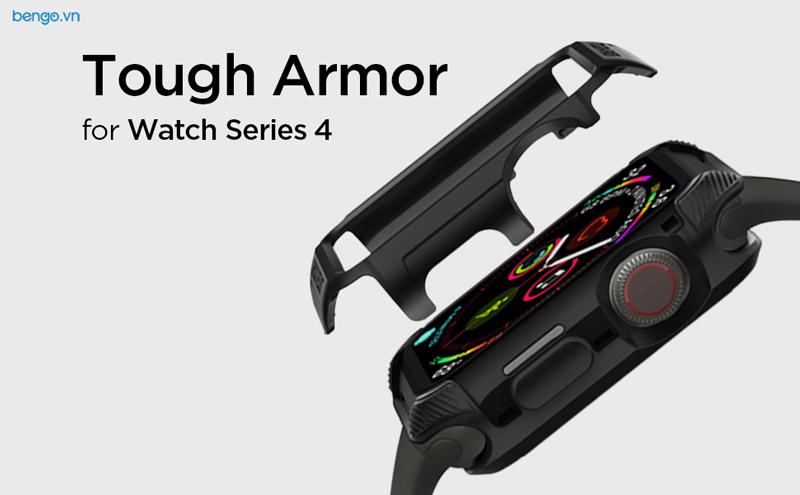 Ốp Apple Watch Series 4 44mm SPIGEN Tough Armor