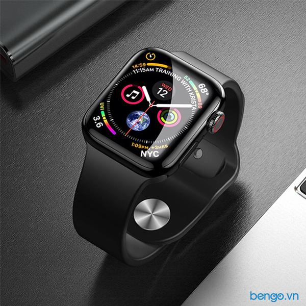 Dán cường lực Apple Watch Zeelot Nanometer Clear Full keo