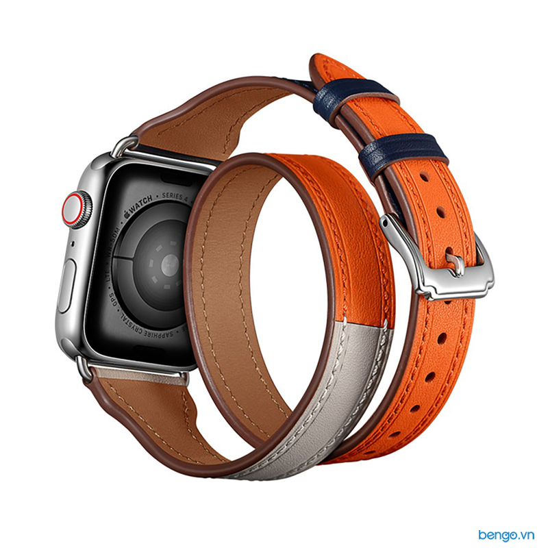 Dåy đeo Apple Watch 42mm & 44mm JINYA Magical Leather