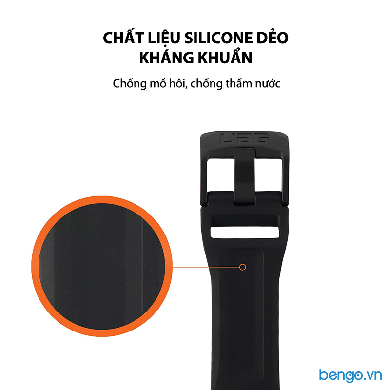 Dây đeo Apple Watch 42mm & 44mm UAG Scout Silicone