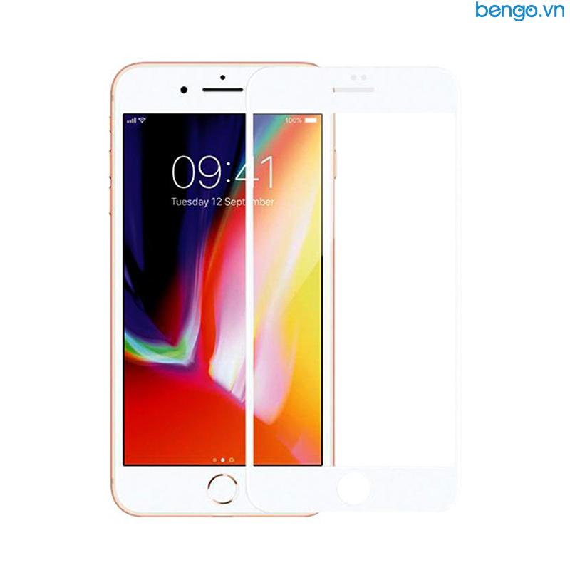 Dán cường lực iPhone 8/7 Plus Full 3D MIPOW KING BULL