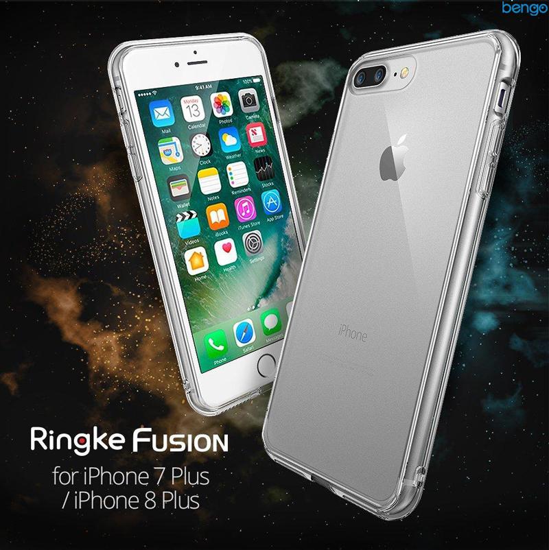 Ốp lưng iPhone 8 Plus/iPhone 7 Plus Ringke FUSION