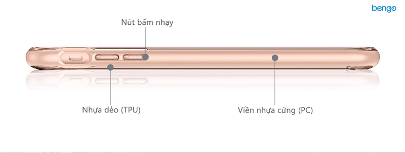 Ốp lưng iPhone 8/7 Plus SPIGEN Crystal Hybrid