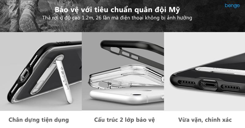 Ốp lưng iPhone 8/7 Plus SPIGEN Crystal Hybrid