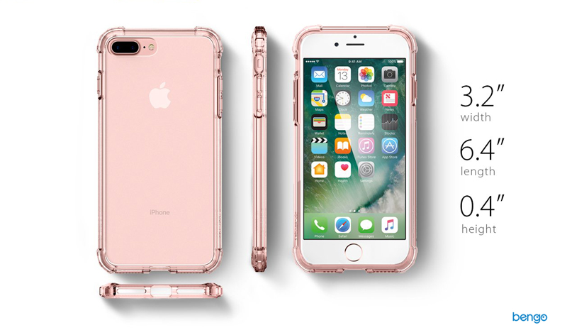 Ốp lưng iPhone 8/7 Plus SPIGEN Crystal Shell
