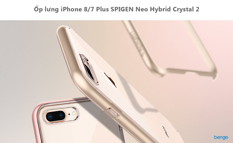 Ốp lưng iPhone 8/7 Plus SPIGEN Neo Hybrid Crystal 2