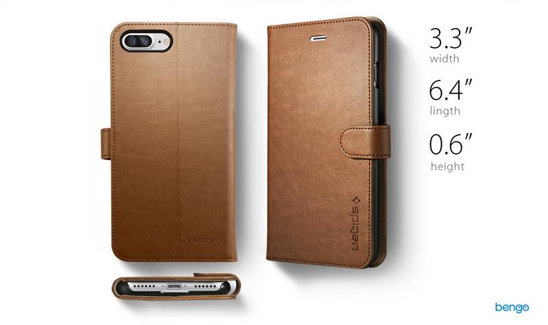 Bao da iPhone 8/7 Plus SPIGEN Wallet S