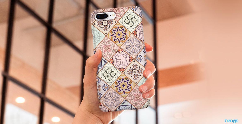 iPhone 8 Plus Thin Fit Case Arabesque Spigen