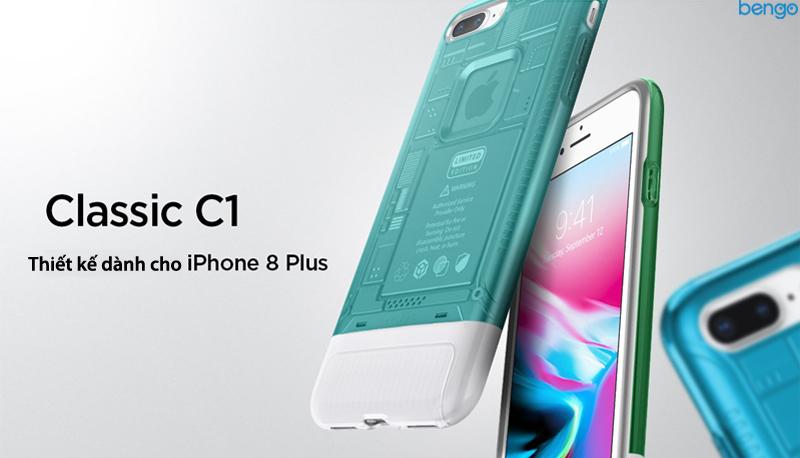 Ốp lưng iPhone 8/7 Plus SPIGEN Classic C1