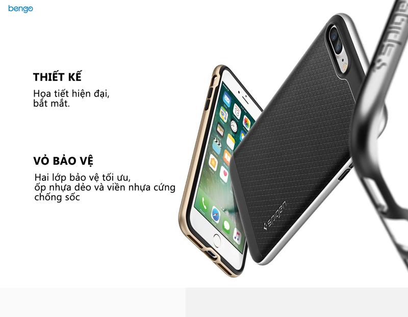 Ốp lưng iPhone 8/7 Plus SPIGEN Neo Hybrid