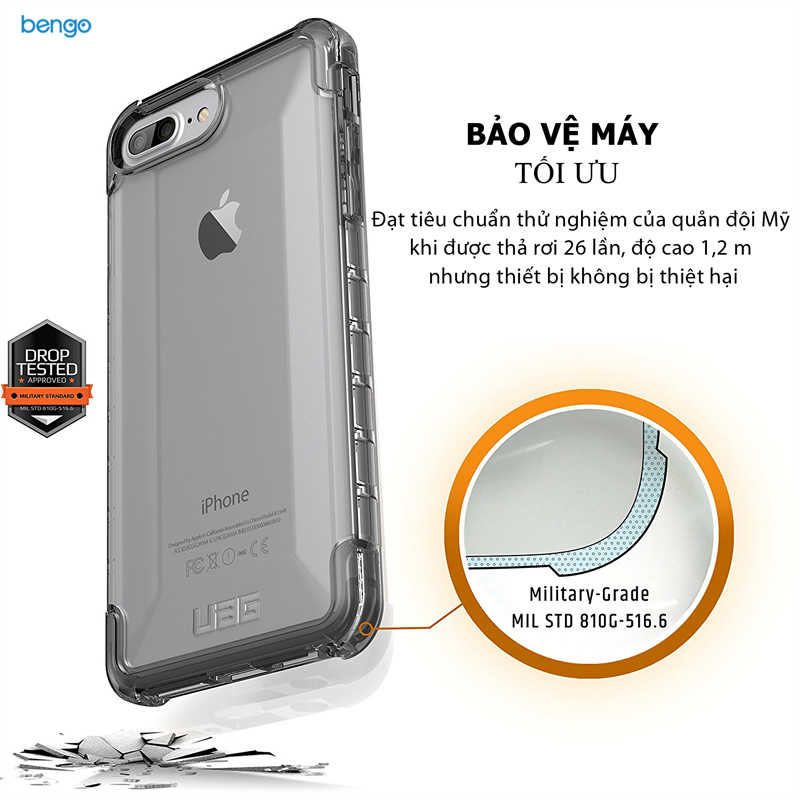 Ốp lưng iPhone 8/7/6s Plus UAG Plyo