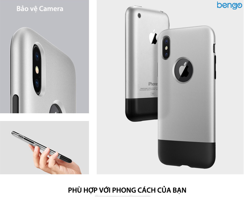 Ốp lưng iPhone Xs/X SPIGEN Classic One