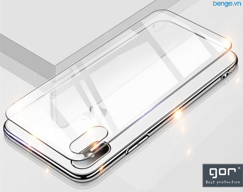 Dán cường lực mặt lưng iPhone Xs Max GOR