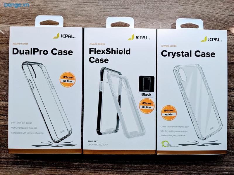 Ốp lưng iPhone Xs Max/Xr/Xs/X JCPAL Crystal Glass
