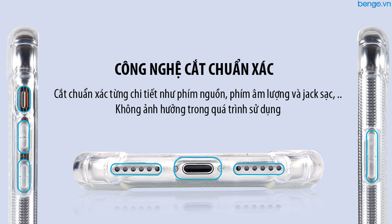 Ốp lưng iPhone Xs Max Lensun Anti-Shock