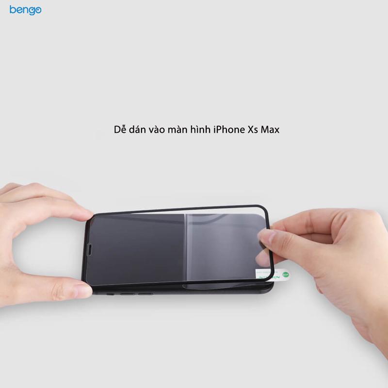 Kính cường lực iPhone Xs Max Nillkin 3D AP+ Pro