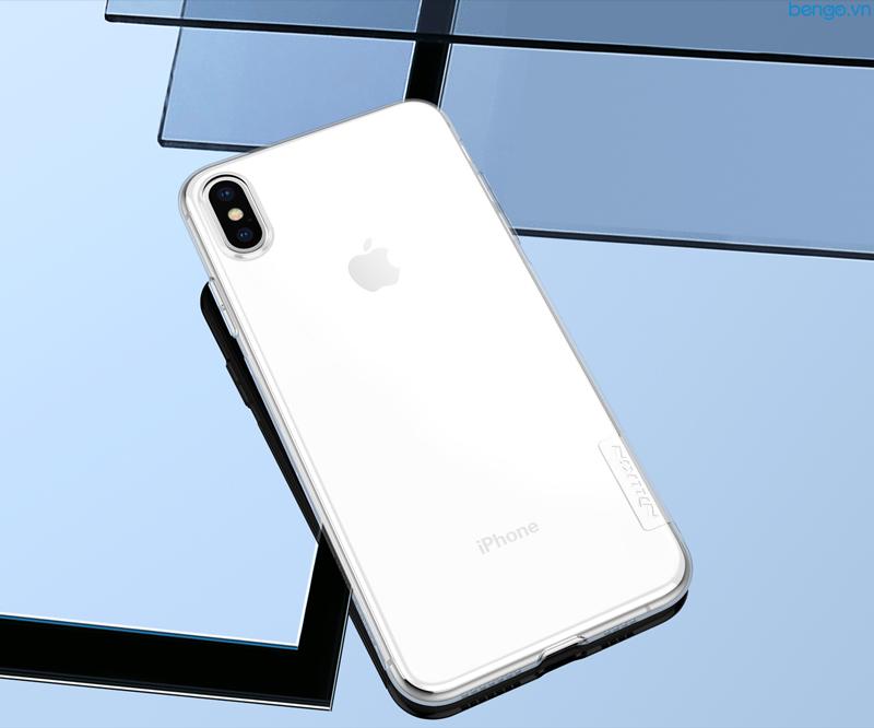 Ốp lưng iPhone XS Max Nillkin TPU Nature