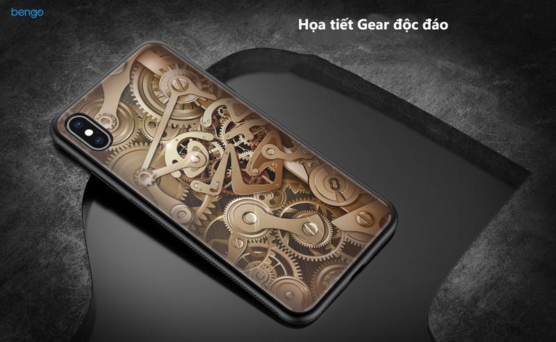 Ốp lưng iPhone XS Max Nillkin Gear