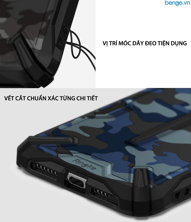 Ốp lưng iPhone Xs Max RINGKE Dual X Camo