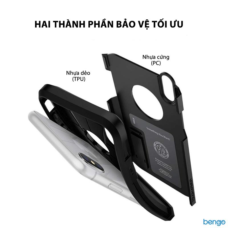 Ốp lưng iPhone Xs Max SPIGEN Tough Armor