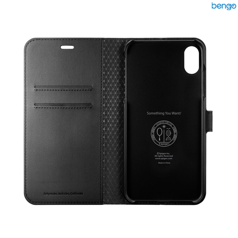 Bao da iPhone Xs Max SPIGEN Wallet S