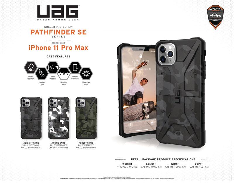Ốp lưng iPhone 11 Pro Max UAG Pathfinder SE Camo