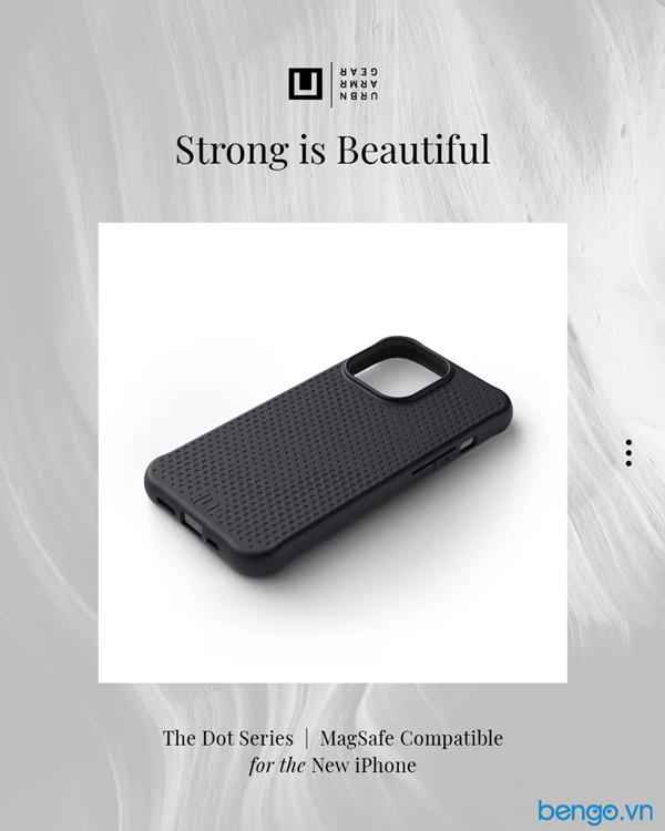 [U] Ốp lưng iPhone 13 UAG Dot with MagSafe Series