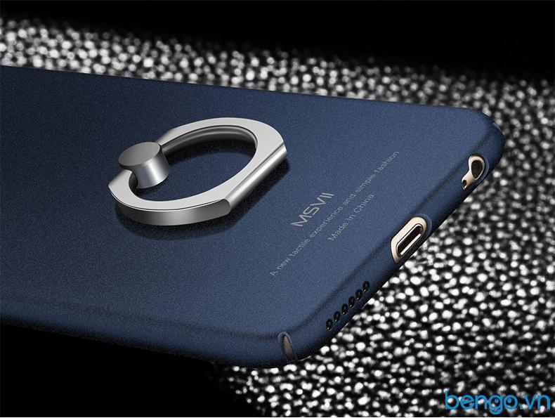 ốp lưng iphone 7 msvii kèm nhẫn đa năng