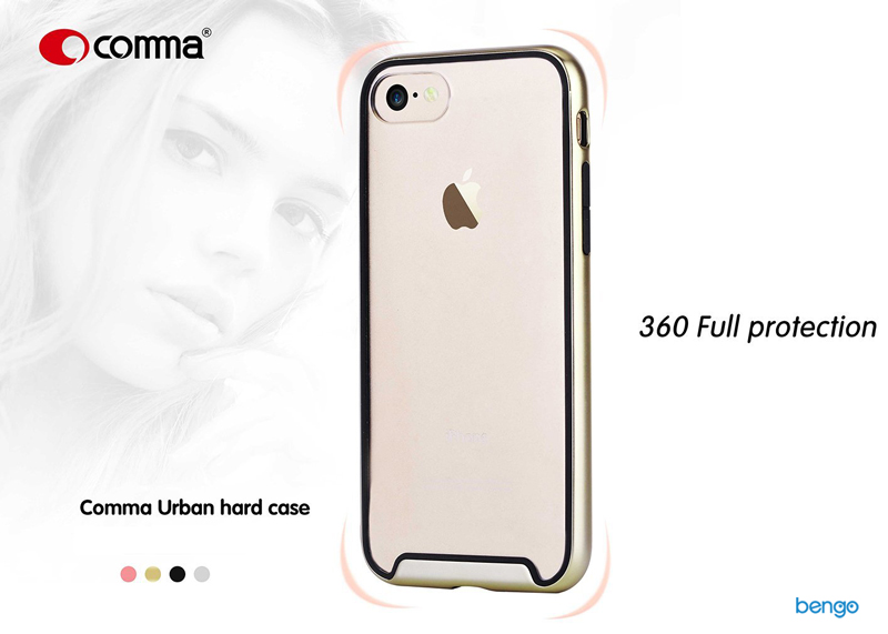 Ốp lưng iPhone 8/7 Comma Urban Hard