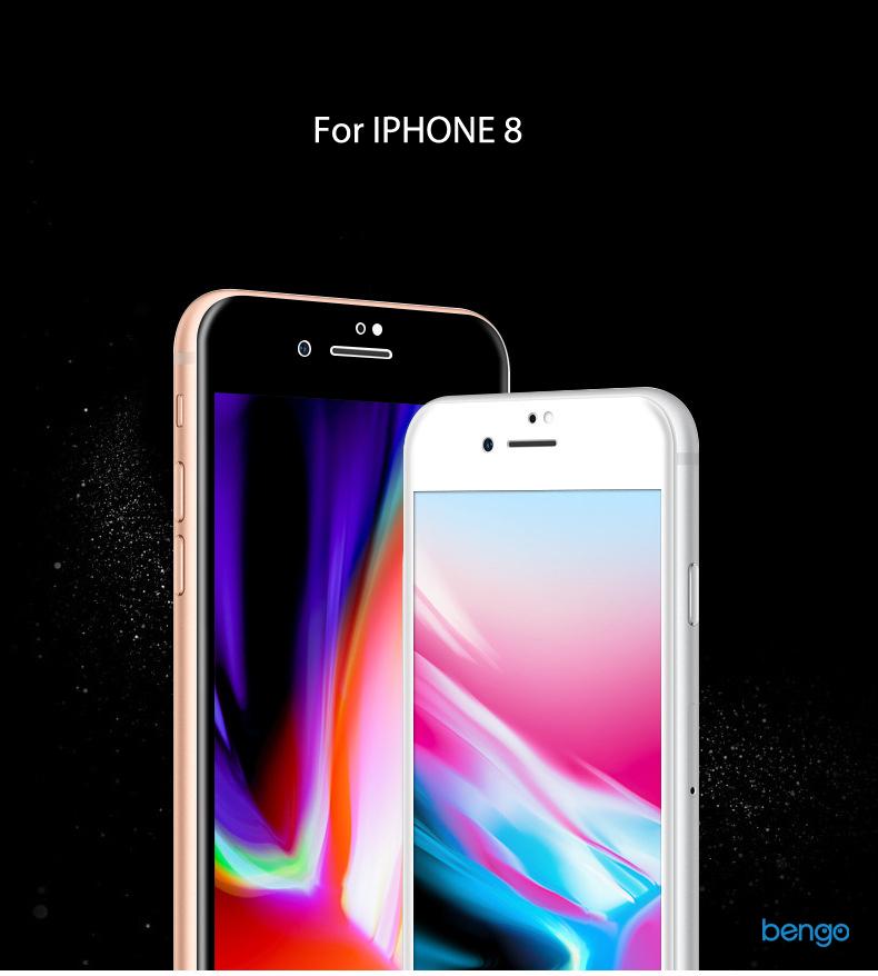 Dán cường lực iPhone 8 4D Full màn hình