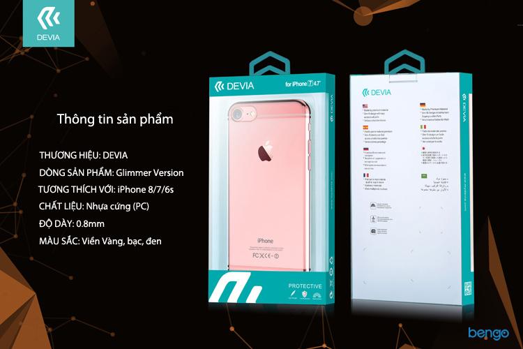 Ốp lưng iPhone 8/7/6s DEVIA Glimmer Version