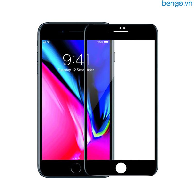 Dán cường lực iPhone 8/7 Full 3D MIPOW KING BULL