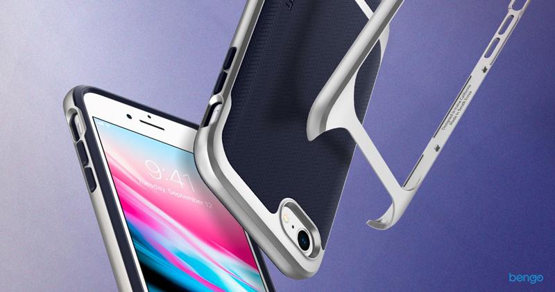 Ốp lưng iPhone 8/7 Spigen Neo Hybrid Herringbone