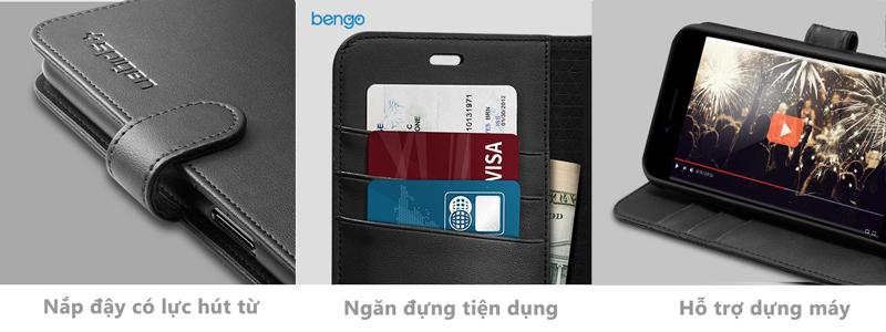 Bao da iPhone 8/7 SPIGEN Wallet S