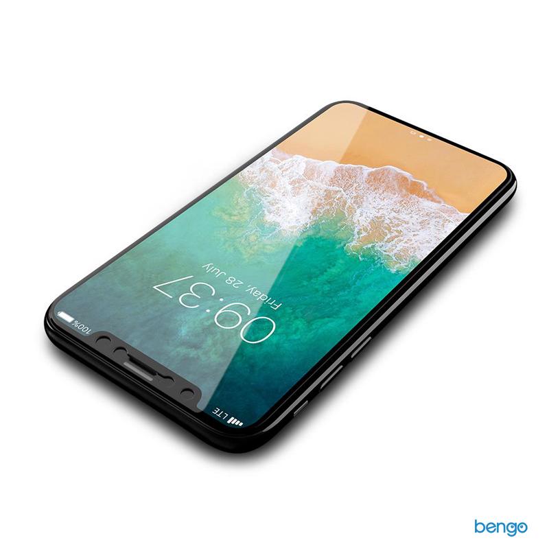 Dán cường lực iPhone X JCPAL 3D Premium full màn hình