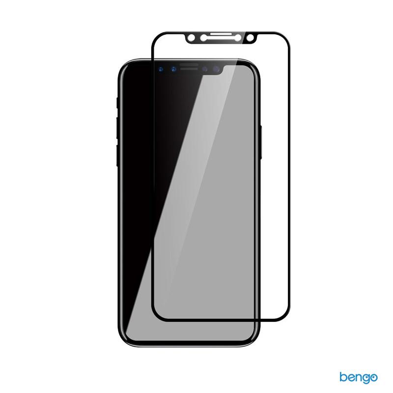 Dán cường lực iPhone X JCPAL Preserver Full màn hình