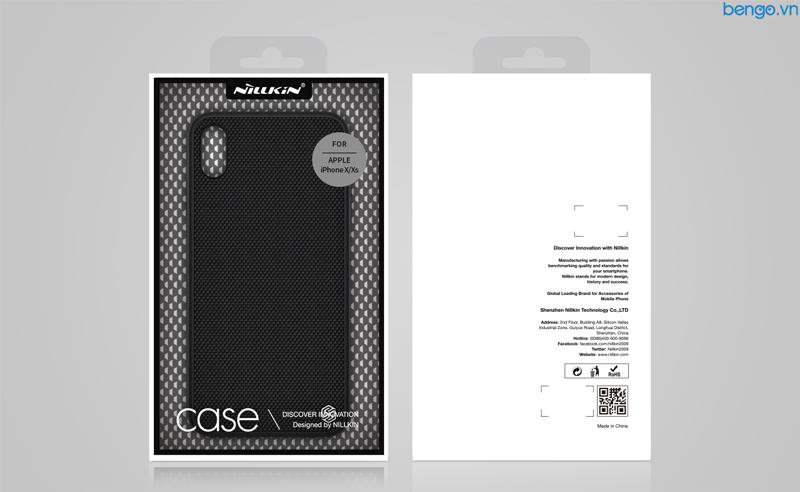 Ốp lưng iPhone XS/X Nillkin Textured