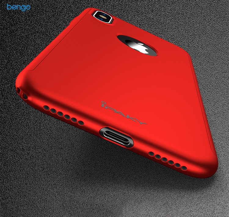 Ốp lưng iPhone X IPAKY bảo vệ 360