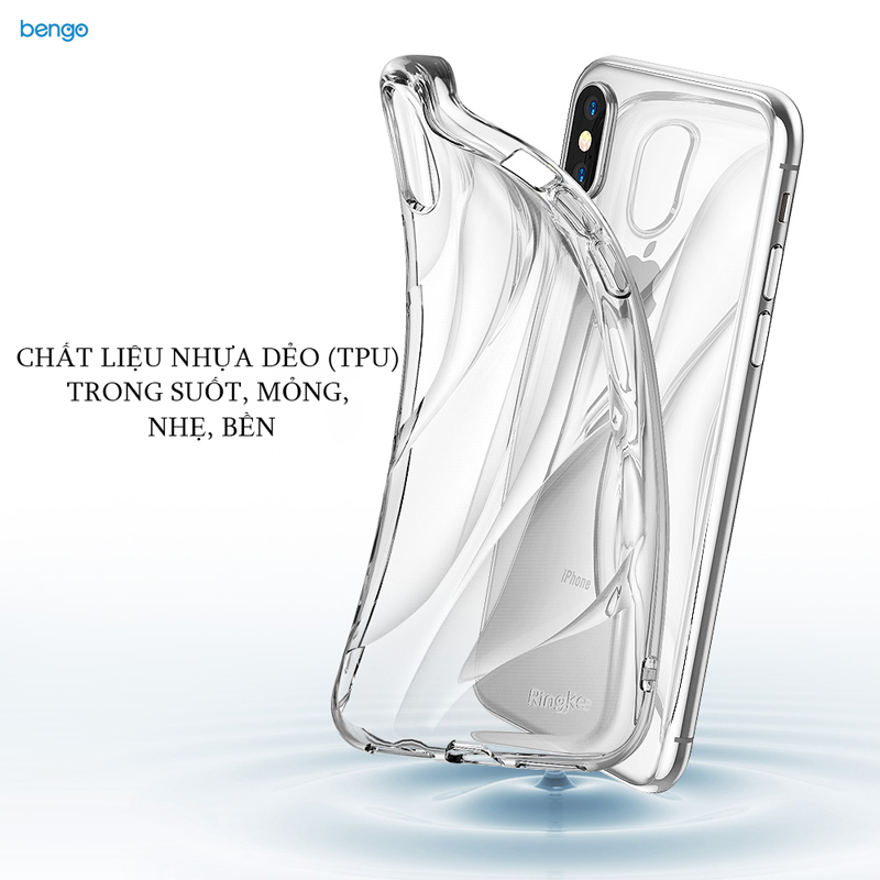Ốp lưng iPhone X RINGKE Flow