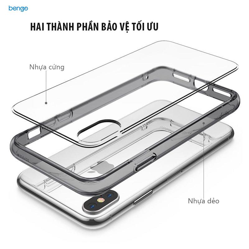 Ốp lưng iPhone X RINGKE Fusion