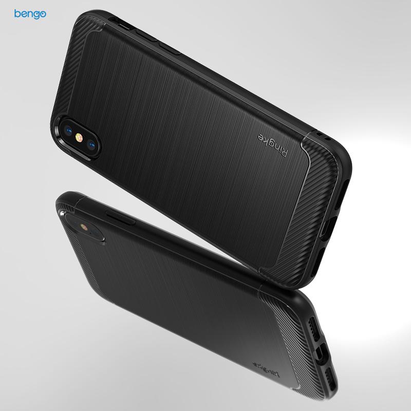 Ốp lưng iPhone X RINGKE Onyx